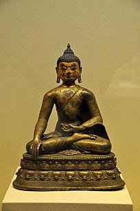 铜释迦牟尼佛坐像