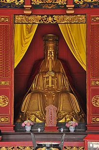 长春文庙孔子神位