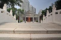长春文庙庭院