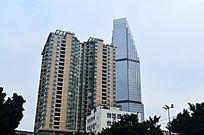 城市建高楼大夏风景图片