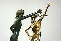 雕塑舞蹈女神