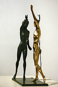 雕塑致敬舞蹈女神