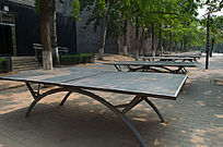 公园乒乓球桌