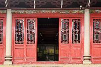 古建筑大门