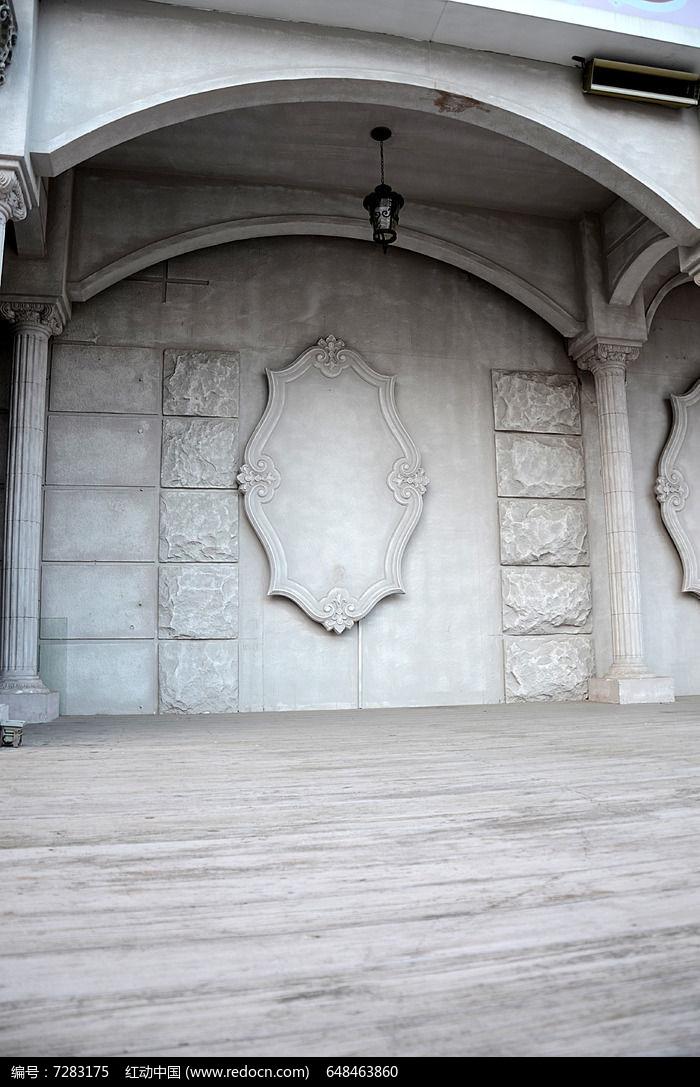 欧式背景墙图片,高清大图_建筑摄影素材