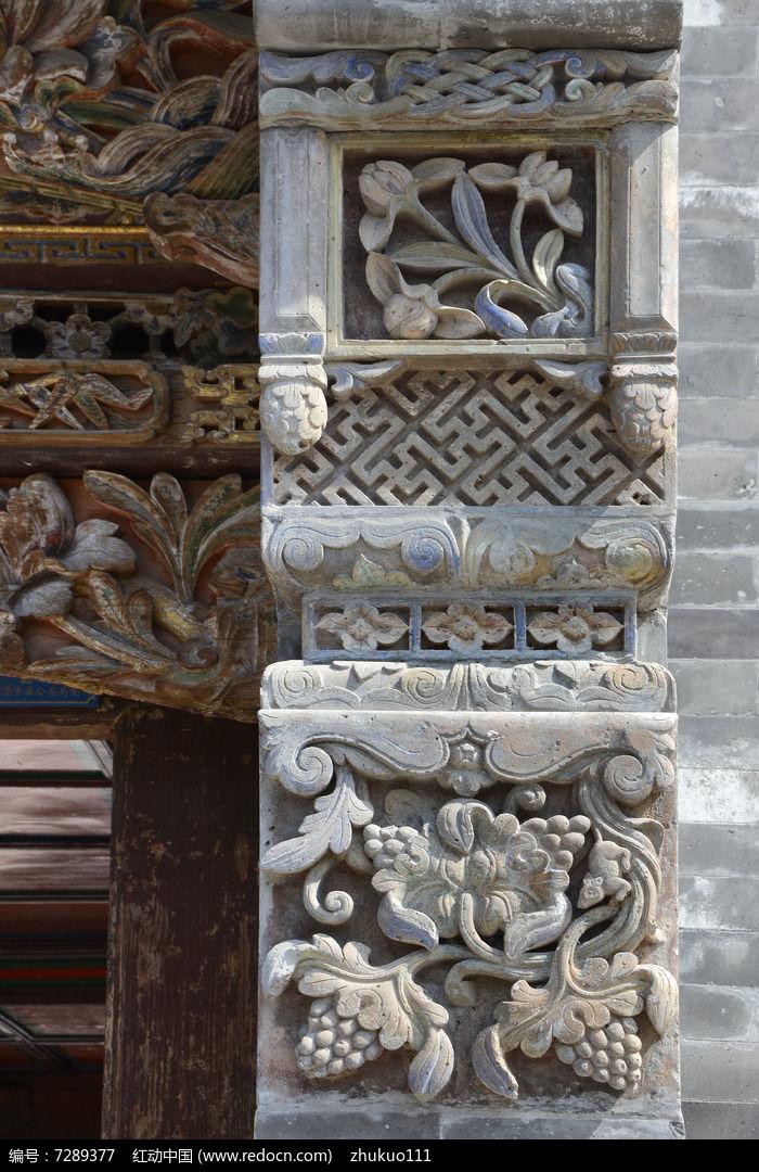 塔尔寺砖雕彩绘