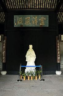 王羲之石像