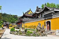 雪窦寺庙宇建筑