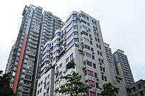 城市高楼大夏建筑风景图片