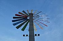 风车风景图片