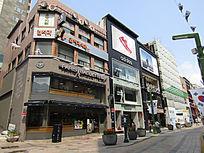 韩国街区摄影相片