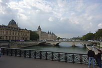 河道景观桥