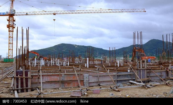 建筑基础施工图片,高清大图_建筑工地素材