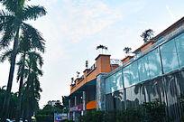 酒店大楼风景图片