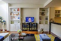 客厅及装饰柜