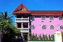 老挝民居建筑