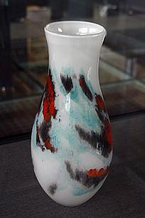 琉璃斑彩瓶