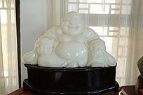 弥勒佛白玉雕刻作品