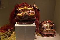 民间文艺道具狮舞皮