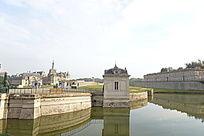 欧洲建筑城堡入口
