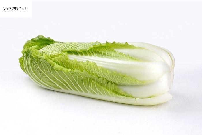 色泽翠绿的大白菜图片