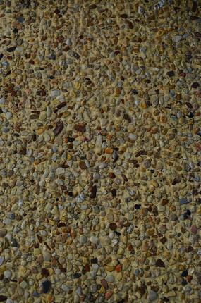 石子铺砌地板纹理素材