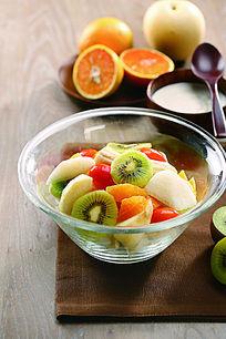 酸奶水果色拉