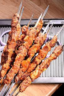 炭烤羊肉串