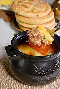 土豆牛腩汤