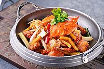 香辣蟹翅煲