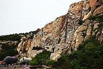 西霞口野生动物园一角