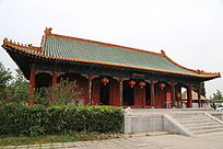涿州三义宫三义初创大殿外景