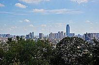 城市远景图片素材
