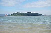 海蓝色的海洋风景图片