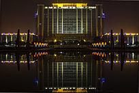 焦作市政府大厦夜景