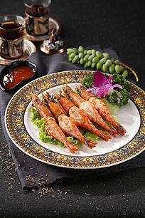 美味烤大虾
