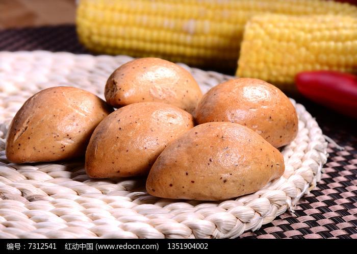 美味烤枣馍图片