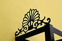 铁艺花纹图案