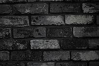 颓废色砖墙背景图