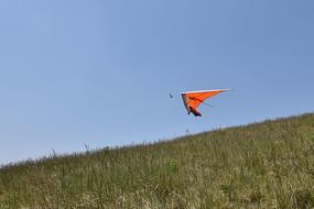 无动力三角翼起飞