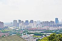 远处的高楼大厦图片素材