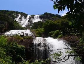白水寨瀑布