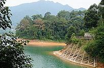 高山绿水风景图片