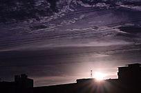 日落风光图片