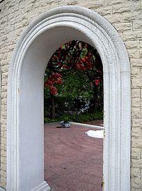 英式礼堂门洞