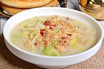 白菜肉皮汤
