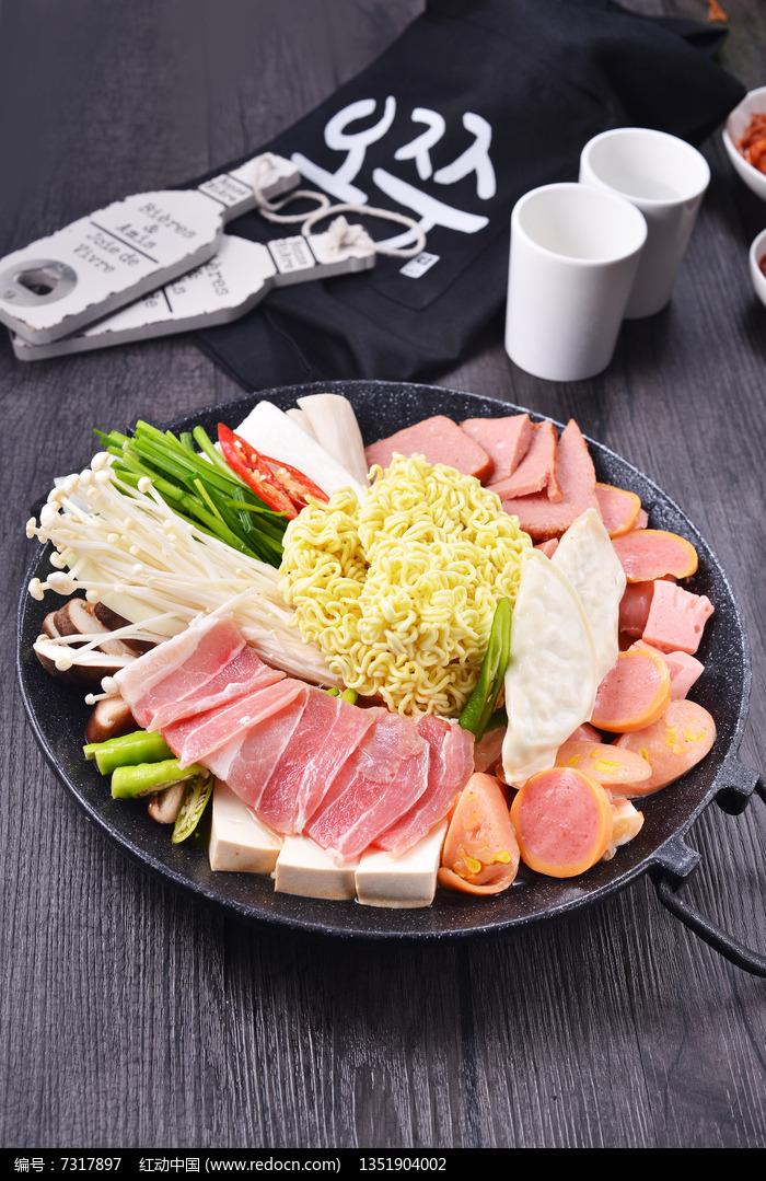 部队火锅图片,高清大图_美食制作素材图片