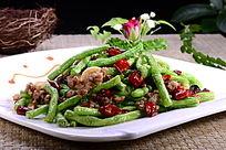 干锅四季豆
