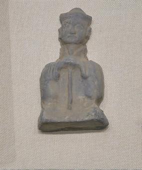 汉朝灰陶俑