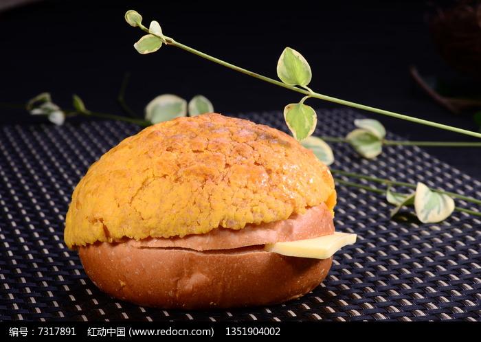 美味菠萝包图片,高清大图_小吃点心素材
